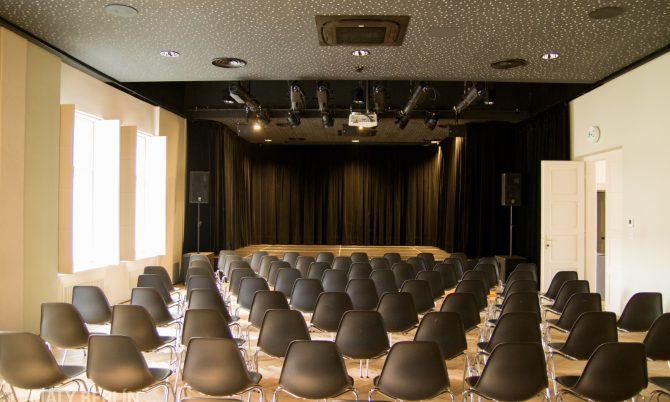 Malý Berlín: Hlavná sála