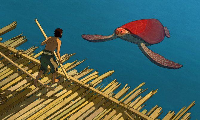 Letné kino na Nádvorí: Červená korytnačka