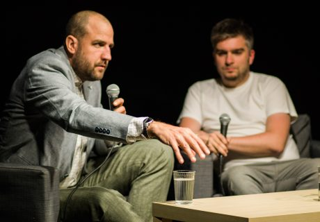 Tomáš Forró na diskusii v Malom Berlíne Foto: Petra K. Adamková